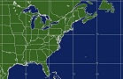 East Coast Satellite Imagery
